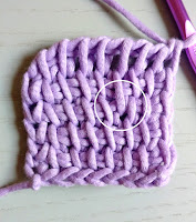 Tunisian Crochet Increase