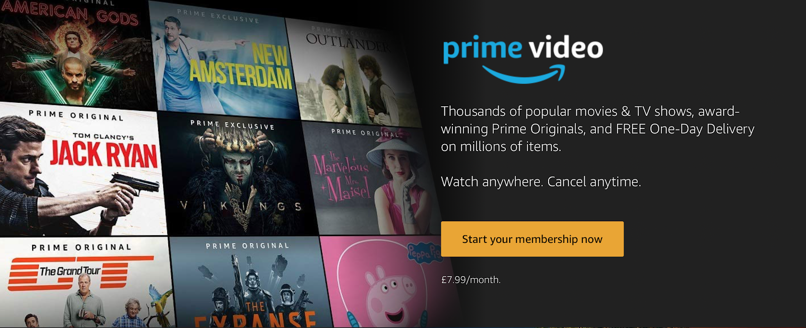 amazon prime gift, amazon prime free trial, amazon prime video gift