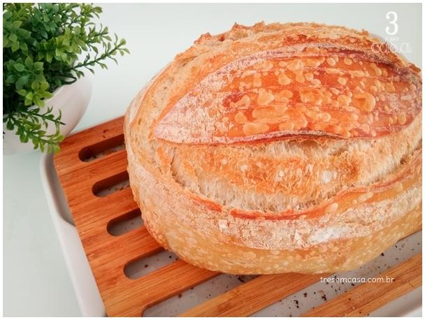como fazer pão de fermentação natural
