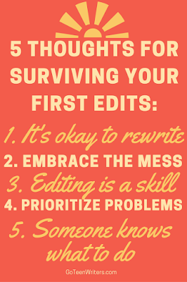 Editing for the first time? 5 Thoughts To Help You Make Sense Of It.