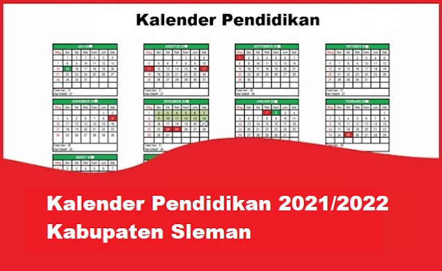 kalender pendidikan kabupaten sleman