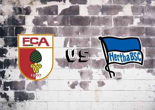 Augsburg vs Hertha BSC  Resumen