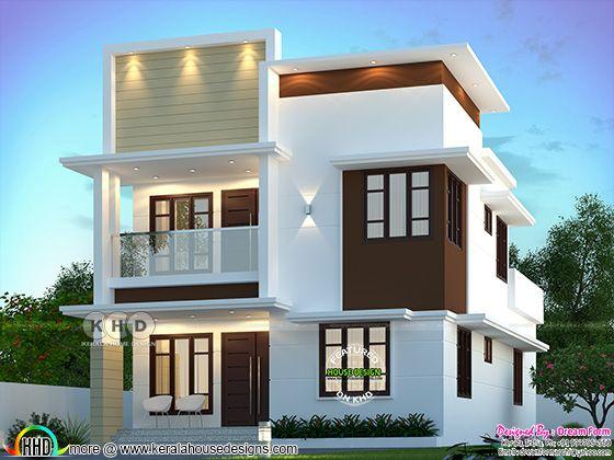 1850 sq. ft. modern home design