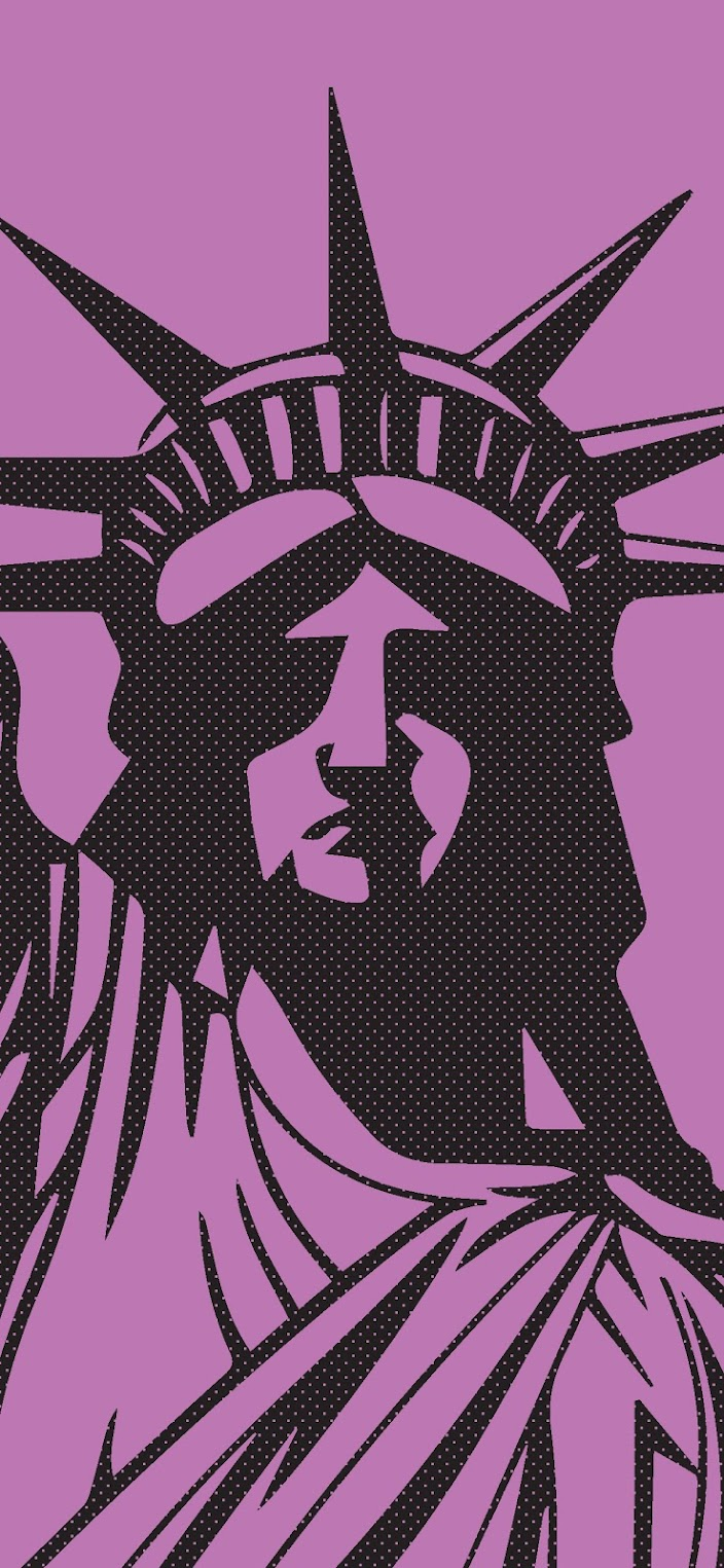 v2 Statue of Liberty Aesthetic Wallpaper 1205x2609
