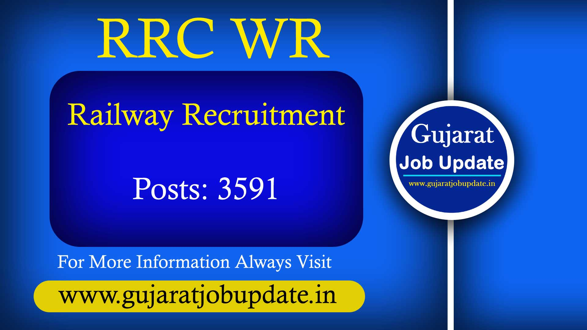 RRC WR Railway Apprentice Recruitment 2021