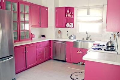 cozinha rosa casa cocina kitchen cucina outubro rosa cancer de mama mulher pink rose fofa meiga feminina boneca barbie decoração diferente colorida