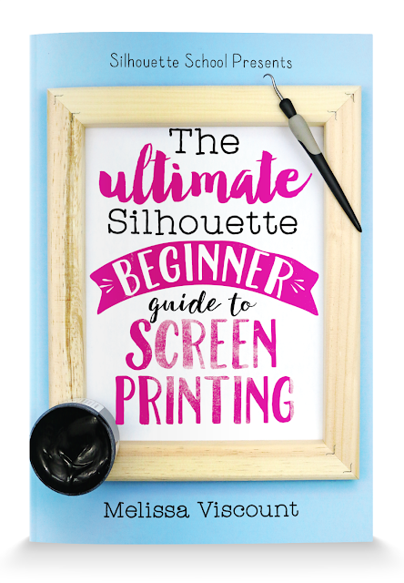http://www.swingdesign.com/collections/silhouette-guide-books/products/the-ultimate-silhouette-beginner-guide-to-screen-printing-by-melissa-viscount