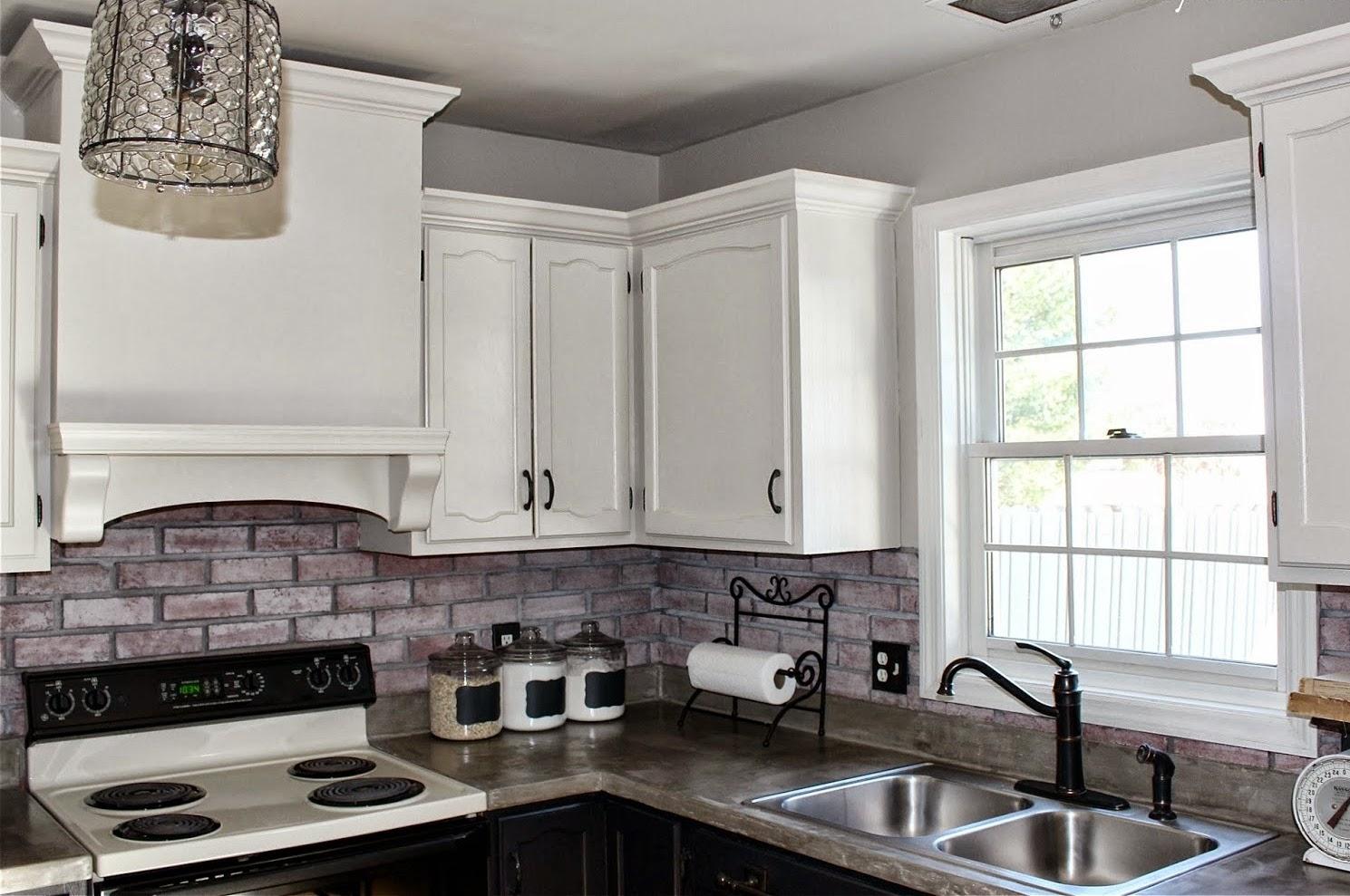 Home Priority Impressing Backsplash Through Brick Backsplash