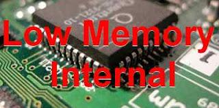 Cara Mengatasi memori Internal Ponsel Habis