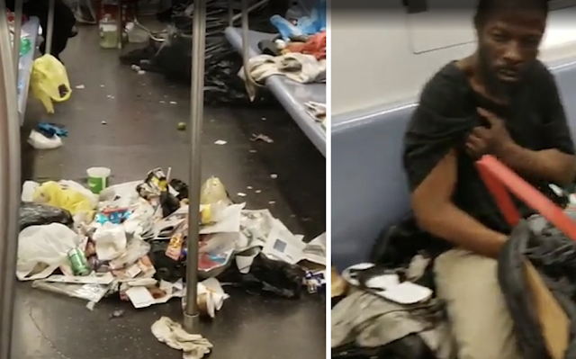 This is New York City's most disgusting subway car