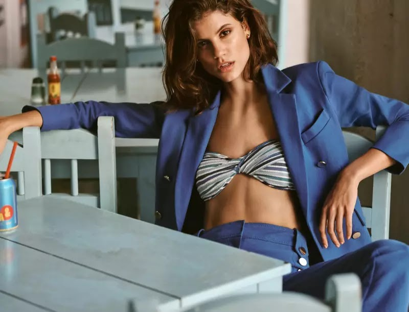 Antonina Petkovic stars in Bloomingdale's Mix Masters spring-summer 2020 campaign
