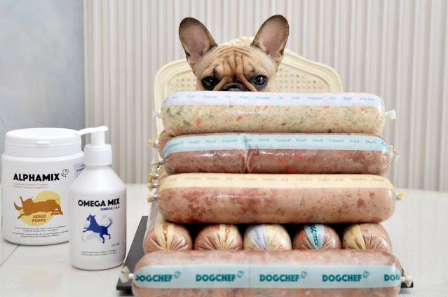 Ration ménagère livrée à domicile Code promo Dog Chef