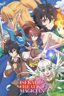 Anime Isekai Cheat Magician Legendado