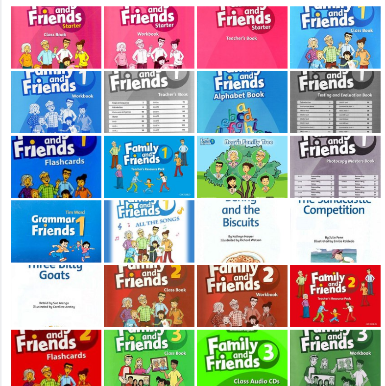 روابط لكل مايخص فاميلى اند فريندز family and friends لجميع الصفوف في صفحة واحدة