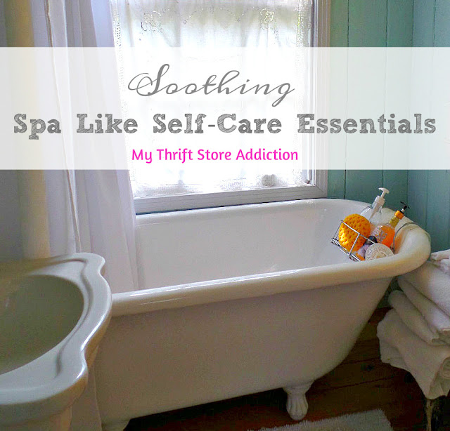 Soothing spa like self-care essentials