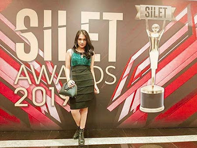 Davina Karamoy di Silet Awards