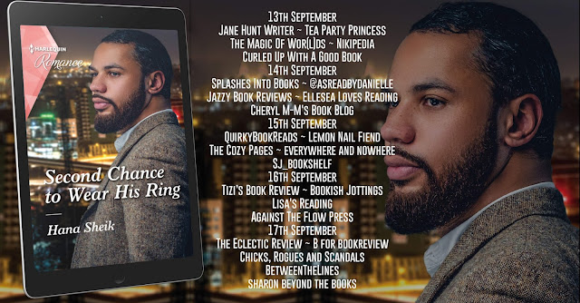 Second Chance to Wear His Ring by Hana Sheik blog tour banner