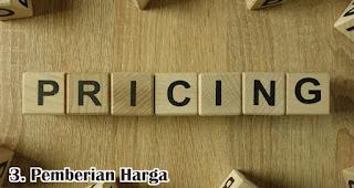 Pemberian Harga merupakan salah satu faktor yang mempengaruhi kepuasan pelanggan