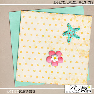 Creative Team for LDrag Designs -  Beach Bum  and Coordinating Freebie