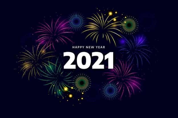 gambar kata kata ucapan selamat tahun baru 2021