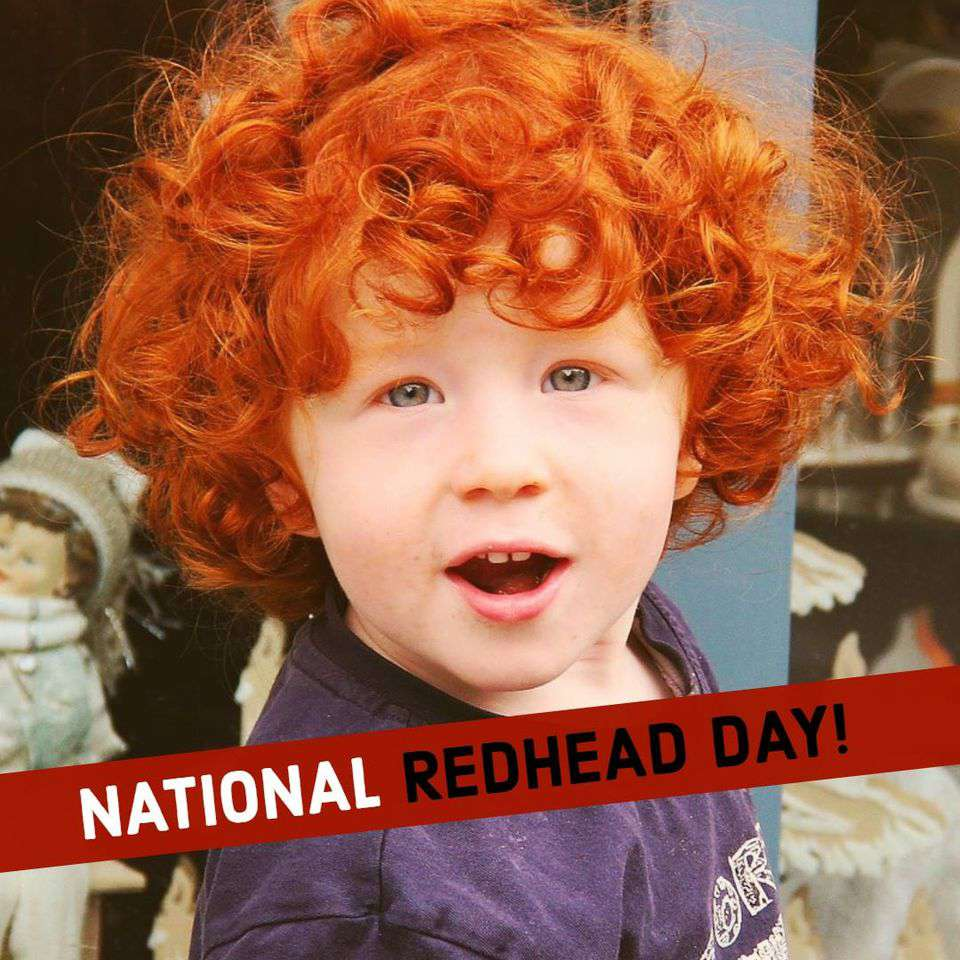 National Redhead Day Wishes Images download