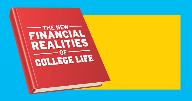 The Financial Realities Of College Life  #Infographic
