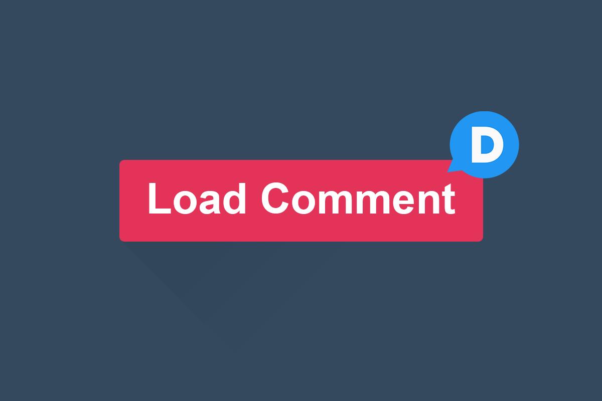Cara Membuat Tombol Load Comment Disqus dengan Onclick Event
