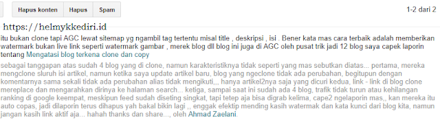komentar blog positif