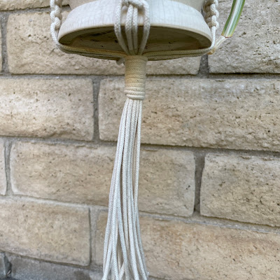 Easy Macrame Plant Hanger Instructions