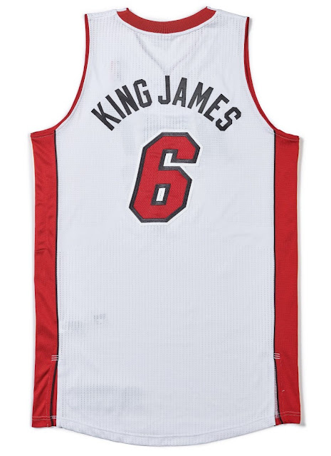 LeBron James' Jersey Was Sold for $56,250 at Sotheby's Auction