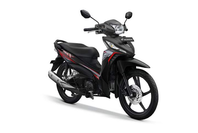 warna New Honda Revo Quantum Black