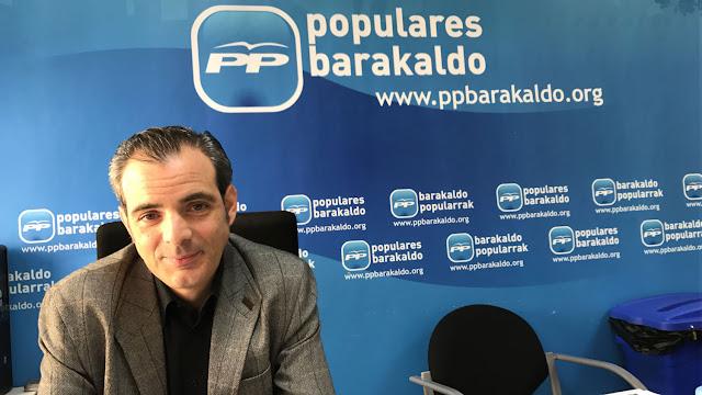 El concejal del PP Víctor Rodríguez