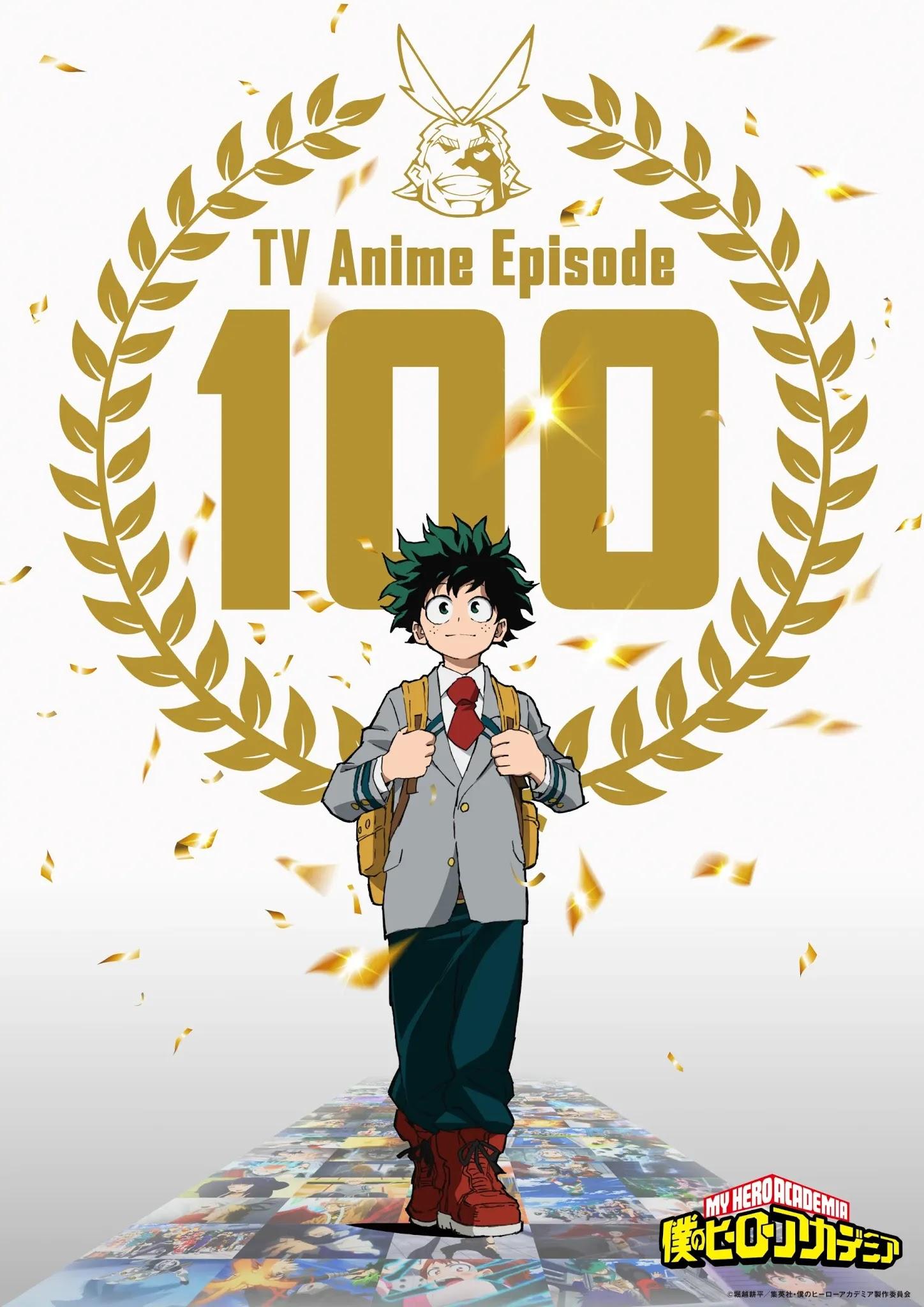 Boku no Hero Academia 100 odcinek