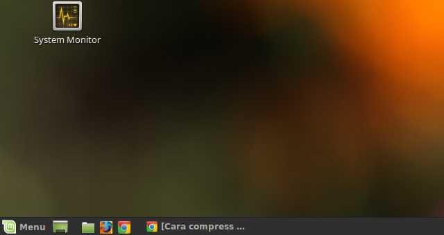 tampilan linux mint 18.3