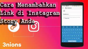 Cara Menambahkan Link di Instagram Story Anda 1