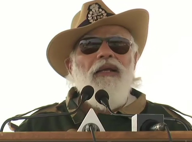 PM Modi In Jaisalmer