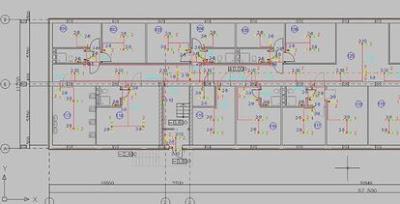 Elf editor for electrical circuit diagram