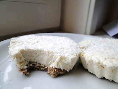 Tartes au tofu et à la noix de coco