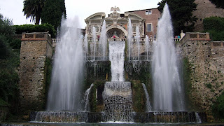 The Fountain of Neptune at the Villa d'Este