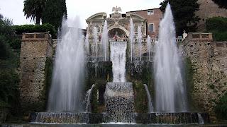 The Fountain of Neptune at the Villa d'Este