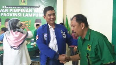 Jelang Pilgub Lampung 2018, PPP dan Demokrat Bentuk Tim