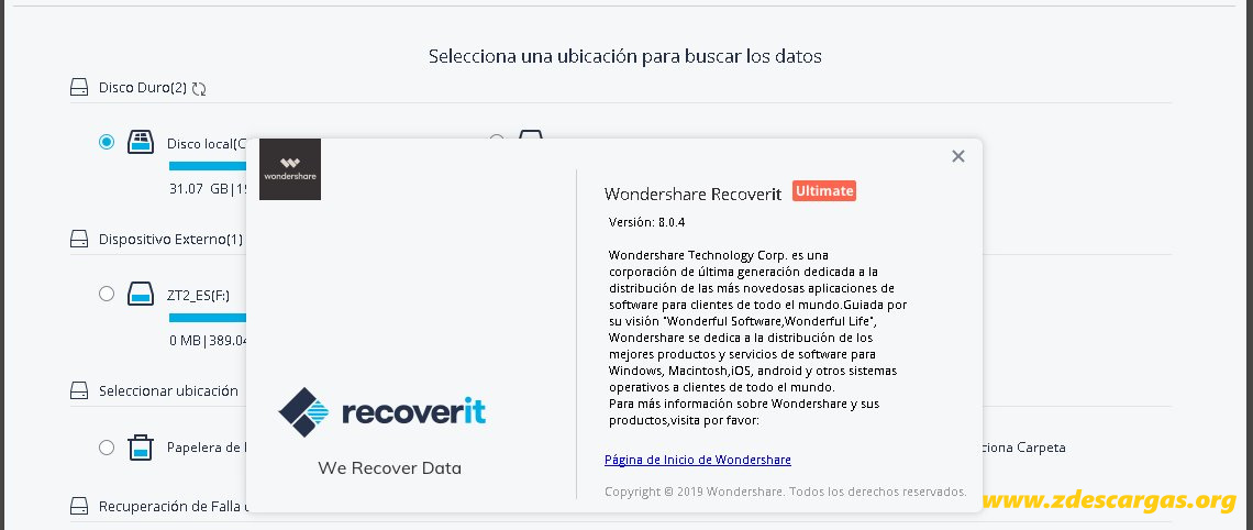Wondershare Recoverit Ultimate Full Español
