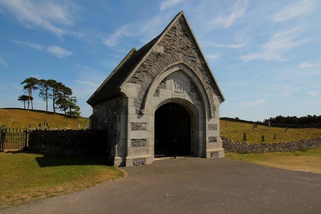 Curragh Military Graveyard Entrance