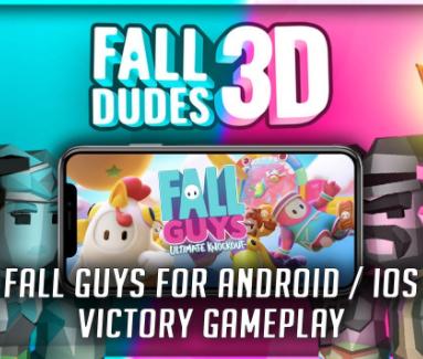 Tải Fall Dudes 3D APK - Fall Guys phiên bản trên mobile