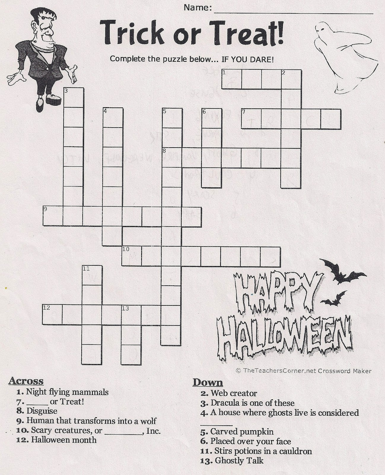 ENGLISH-Christine Picasso: SCHOOL ACTIVITIES ON HALLOWEEN