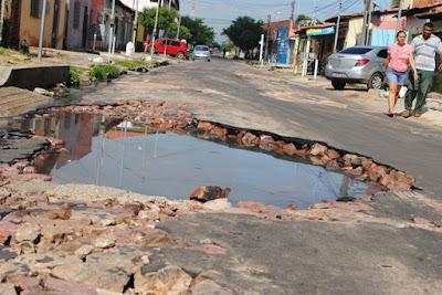 Foto: Blog do Ademar Sousa / Rua 70 Parque Piauí Timon