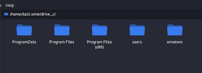wine file system