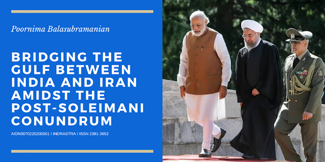 Cover Image Attribute: A file photo of Indian Prime Minister Narendra Modi with Iranian President Hassan Rouhani during the former's official visit to Tehran on February 12, 2018. / Source: Hamid Amlashi, ISNA.