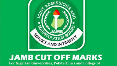 JAMB Pegs Varsity Cut-off Mark At 160, Poly 120, CoE, Others 100