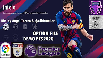 eFootball PES 2020 PS4 DEMO Option File by Emerson Pereira